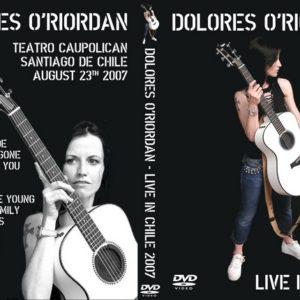 Dolores O'Riordan 2007-08-23 Santiago, Chile DVD