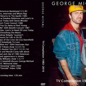 George Michael 1983-2016 TV Compilation DVD