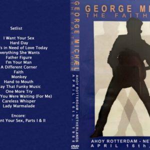 George Michael 1988-04-16 Ahoy, Rotterdam, Netherlands DVD