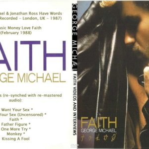 George Michael 1988 Faith Videos And Interviews DVD