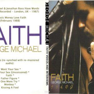 George Michael 1988 Faith Videos And Interviews DVD