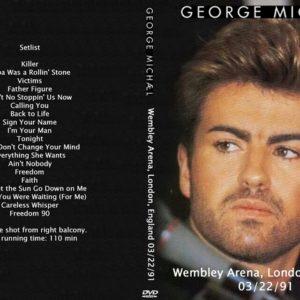 George Michael 1991-03-22 Wembley Arena, London, England DVD