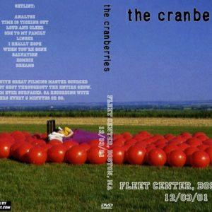 The Cranberries 2001-12-03 Fleet Center, Boston, MA DVD