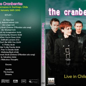 The Cranberries 2010-01-26 Santiago, Chile DVD