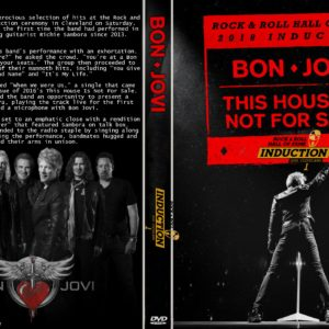 Bon Jovi 2018-04-14 Rock and Roll Hall Of Fame, Cleveland, OH DVD