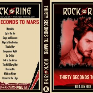 30 Seconds To Mars 2018 Rock Am Ring DVD