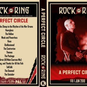 A Perfect Circle 2018-06-01 Rock Am Ring DVD