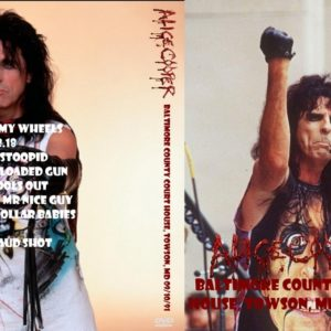 Alice Cooper 1991-09-10 Baltimore County Court House, Towson, MD DVD