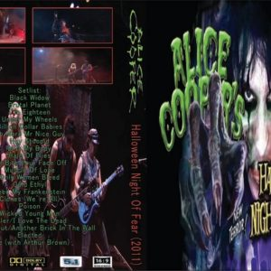 Alice Cooper 2011 Halloween Night Of Fear DVD