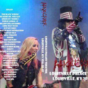 Alice Cooper 2016-08-07 Louisville Palace Theatre, Louisville, KY DVD