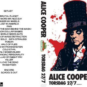 Alice Cooper 2017-07-27 Grona Lund, Stockholm, Sweden DVD
