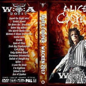 Alice Cooper 2017-08-05 Wacken, Germany DVD