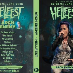 Arch Enemy 2018-06-24 Hellfest, Clisson, France DVD