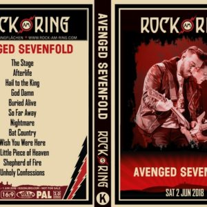 Avenged Sevenfold 2018-06-02 Rock am Ring, Nurburg, Germany DVD