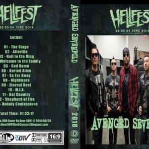 Avenged Sevenfold 2018-06-23 Hellfest Clisson, France DVD