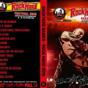 Backyard Babies 2018-05-20 Rock Hard Festival, Gelsenkirchen, Germany DVD