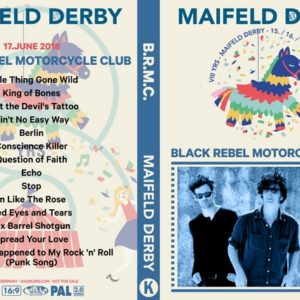 Black Rebel Motorcycle Club 2018-06-17 Maifeld Derby Mannheim, Germany DVD