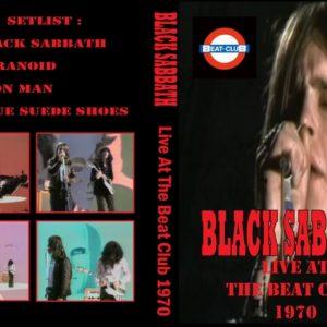 Black Sabbath 1970-05-25 The Beat Club, Bremen, Germany DVD