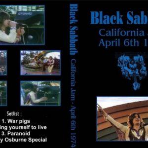 Black Sabbath 1974-04-06 California Jam Ontario Motor Speedway CA DVD