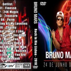 Bruno Mars 2018-06-24 Rock In Rio Lisboa DVD