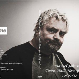 Daniel Johnston 2017-10-07 Town Hall, New York, NY DVD