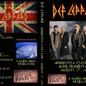 Def Leppard 2015-08-27 MN State Fair St. Paul, MN DVD