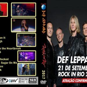 Def Leppard 2017-09-21 Rock in Rio, Parque Olímpico, Rio de Janeiro, Brazil DVD