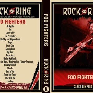 Foo Fighters 2018-06-03 Rock am Ring DVD
