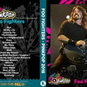Foo Fighters 2018-06-16 Pinkpop Festival Netherlands DVD