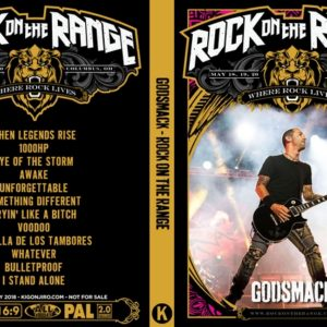 Godsmack 2018 Rock on the Range Columbus DVD