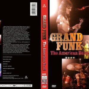 Grand Funk 1974-06-01 The American Band San Diego, CA DVD
