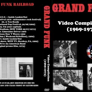 Grand Funk Video Compilation 1969-1973 DVD
