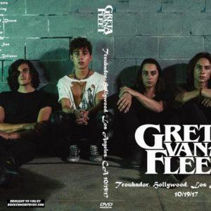 Greta Van Fleet 2017-10-19 Troubador, Hollywood, Los Angeles, CA DVD