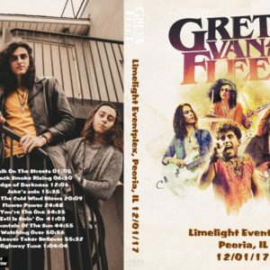 Greta Van Fleet 2017-12-01 Limelight Eventplex, Peoria, IL DVD