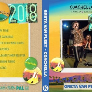 Greta Van Fleet 2018-04-13 Coachella, Indio, CA DVD