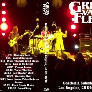 Greta Van Fleet 2018-04-16 Coachella Sideshow, Ford Amphitheater, Los Angeles, CA DVD