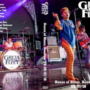 Greta Van Fleet 2018-05-01 House of Blues, Houston, TX DVD