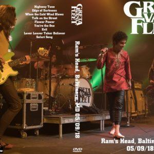 Greta Van Fleet 2018-05-09 Ram's Head, Baltimore, MD DVD
