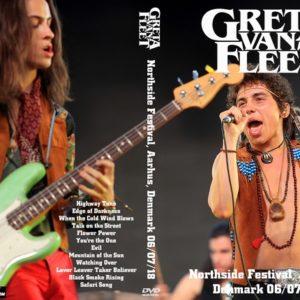 Greta Van Fleet 2018-06-07 Northside Festival, Aarhus, Denmark DVD