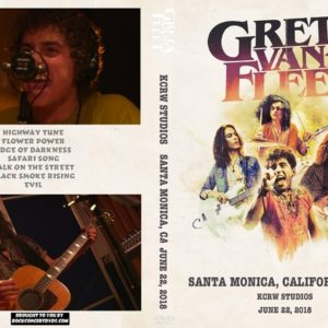 Greta Van Fleet 2018-06-22 KCRW Studios, Santa Monica, CA DVD