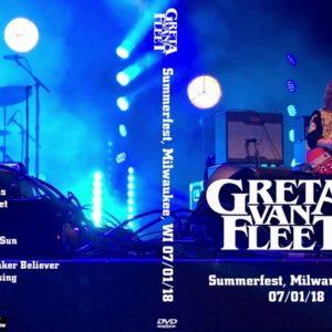Greta Van Fleet 2018-07-01 Summerfest, Milwaukee, WI DVD