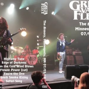 Greta Van Fleet 2018-07-03 The Armory, Minneapolis, MN DVD