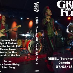 Greta Van Fleet 2018-07-08 REBEL, Toronto, ON, Canada DVD