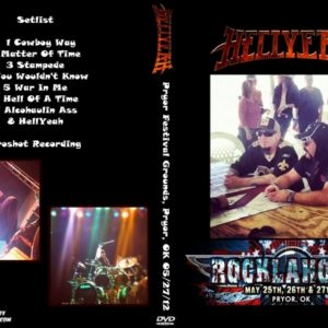 HELLYEAH 2012-05-27 Rocklahoma, Pryor Festival Grounds, Pryor, OK DVD