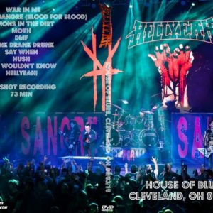 HELLYEAH 2015-05-03 House of Blues, Cleveland, OH DVD