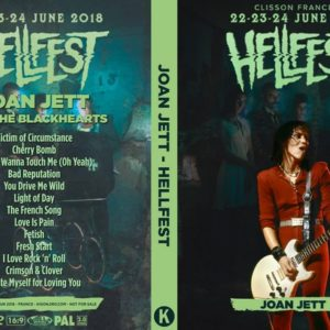 Joan Jett and the Blackhearts 2018-06-22 Hellfest, Clisson, France DVD