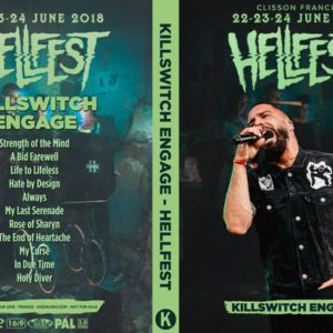 Killswitch Engage 2018-06-24 Hellfest, Clisson, France DVD