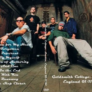 Linkin Park 2001-01-11 Goldsmith College, London, England DVD