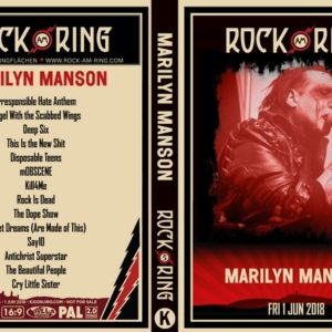 Marilyn Manson 2018-06-01 Rock Am Ring DVD