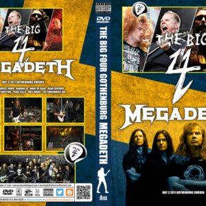 Megadeth 2011-07-03 The Big 4, Gothenburg, Sweden DVD